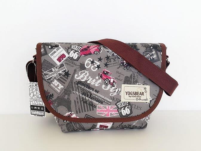 【YOGSBEAR】特價出清 台灣製造 K 防水包 側背包 郵差包 斜背包 相機包 旅遊包 護照包 YG13