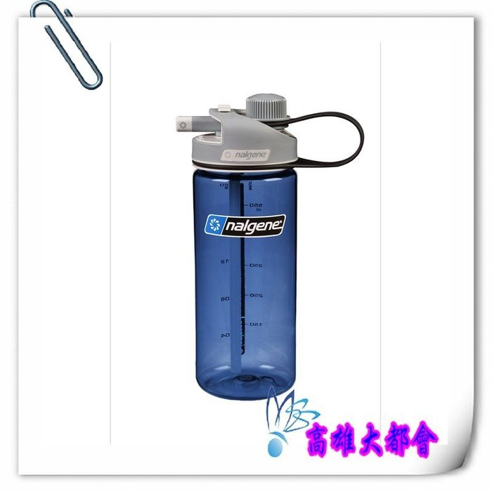 【大都會】30週年慶~Nalgene美國 水壺 1790-2020 藍色 600cc Mu