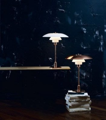 北歐丹麥經典 LOUIS POULSEN PH 3 1/2-2 1/2 限量黃銅桌燈