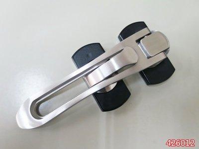 【 品衛無限 】SUS304不銹鋼精鑄 高檔360度旋轉防盜門栓 防盜扣 012