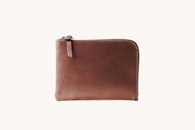 【老店佳】【全新/現貨商品】美國品牌 Tanner Goods Universal Zip Wallet 咖啡色 錢包