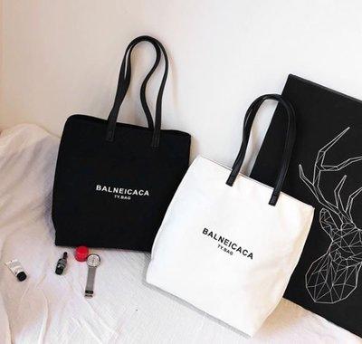 ღ~{ 現貨 }~ ღ 新款潮韓版大容量休閒手提包 時尚帆布單肩包 購物袋 肩背包 媽媽包 側背包