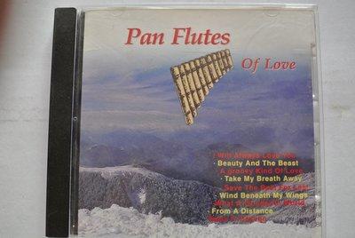 CD ~ PAN FLUTES OF LOVE VANESSA WILLIAMS 排笛情歌~ 1992 SENSORY