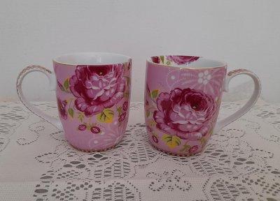 《PIP STUDIO》荷蘭製陶瓷馬克杯/咖啡杯《全新》2入一組