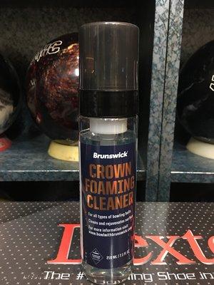 Brunswick Crown Foaming Cleaner 保齡球專用深層泡沫清潔慕斯 210ml