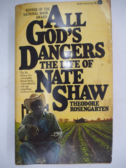【月界二手書店】All God's Dangers:the Life of Nate Shaw 〖外文小說〗CJO