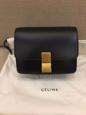 全新 Celine 黑色box mini (舊logo)