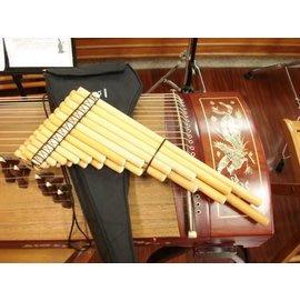 【友客里】((4樂器))南美雙排簫-23音-flauta de pan-Pan Zampo(職業用)(送袋)