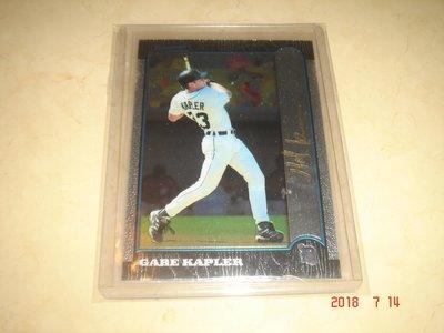 美國職棒 Phillies Manager Gabe Kapler 1999 Bowman Chrome 球員卡