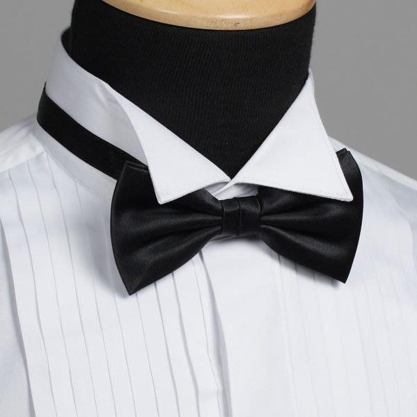 [7-11取貨付款]vivi領帶家族 --- 男仕配件之//時尚-領結(黑) (三色)