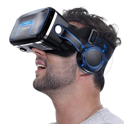 6代升級版vr眼鏡一體機ar虛擬現實頭盔手機專用3d眼睛7代  DF