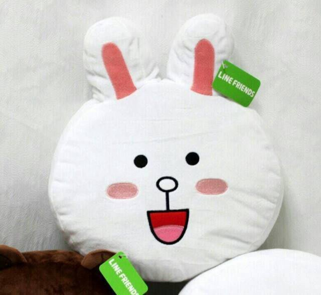 LINE Friends 公仔 兔兔 可妮 CONNY 造型 大抱枕  正版授權