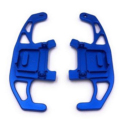 福斯換檔撥片鋁合金換檔撥片 R line GOLf GTI 7.5 SHIFT PADDLE GOLF 7 GTI藍色cheir居家