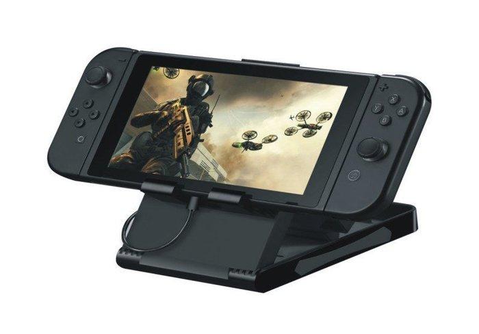 Nintendo 任天堂 Switch 主機副廠支架 折疊式可調節角度支架 手機可用