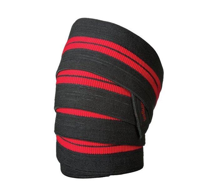 【線上體育】HarbingerRed Line Knee Wraps護膝帶/綁腿帶