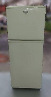 樂居二手家具(北) 便宜2手傢俱拍賣Q90405*三洋雙門冰箱250L* 冷凍櫃 冷凍冷藏冰箱 營業用冰箱 泰山樹林五股