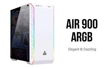 【曜買電腦&機殼】【德隆】MONTECH 君主 Air 900 ARGB BLACK 電腦大機殼 (白色)