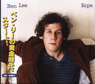 K - Ben Lee - Ripe - 日版 - NEW