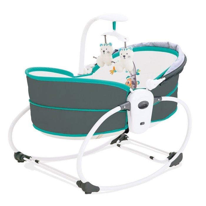 ☘ 板橋統一婦幼百貨 ☘ KOOMA 5合1 睡箱式搖椅-珊瑚綠