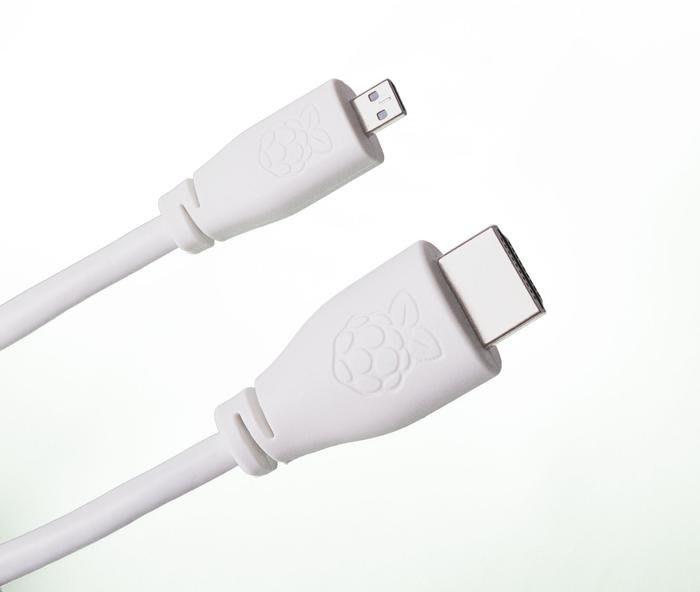 【莓亞科技】樹莓派4B官方版視訊轉換線(micro-HDMI to HDMI, 2M, 含稅現貨NT$268)