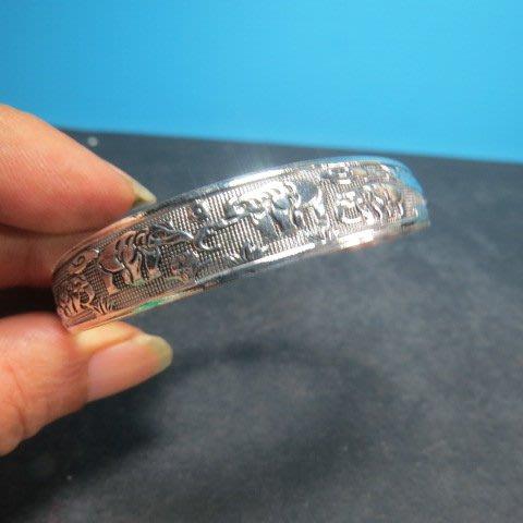 【競標網】高貴時尚西藏藏銀(象上發)造型手鍊(回饋價便宜賣)限量5組(賣完恢復原價150元)