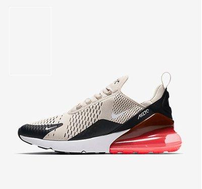 D-BOX Nike Air Max 270 灰黑橘 氣墊 透氣網面 慢跑鞋 運動鞋 男女鞋