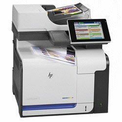 HP M575dn,有傳真{免購機+免維修+雙面掃瞄/雙面列印} 彩色列印機租賃