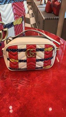 英國代購 Gucci 牛皮 側背包