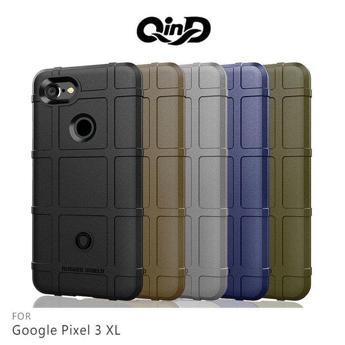 *phone寶*QinD Google Pixel 3 XL/Pixel 3 戰術護盾保護套 軟殼 TPU套 手機殼 保