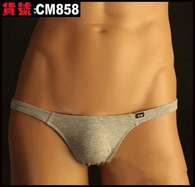 【CoolMan】男士新款TM男內褲全棉低腰丁字褲 男式T型丁字內褲 貨號:CM858-861