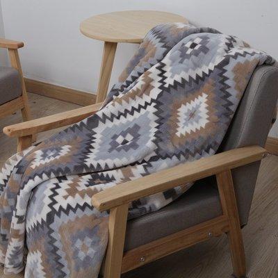 北歐法蘭絨加厚毛毯保暖珊瑚絨毯子雙人毯空調毛毯毛巾被冬季床單
