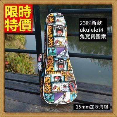 烏克麗麗包 ukulele 琴包配件-23吋卡通系列兔寶寶帆布手提背包保護袋琴袋琴套69y18[獨家進口][米蘭精品]