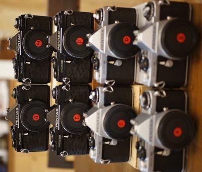 經典Pentax Me Super 輕巧單眼底片機 +6顆鏡頭 (LX MG、MV、MV1)