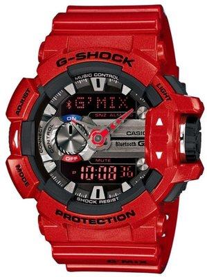 非海外高仿品 G-SHOCK GBA-400-4A 公司貨 法拉利紅 GBA-400 GA-400HR-1A