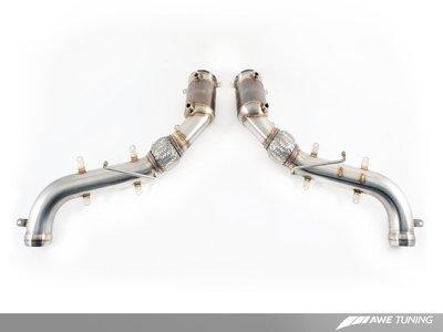 =1號倉庫= AWE Tuning 200目 觸媒 排氣管 McLaren 650S 675LT
