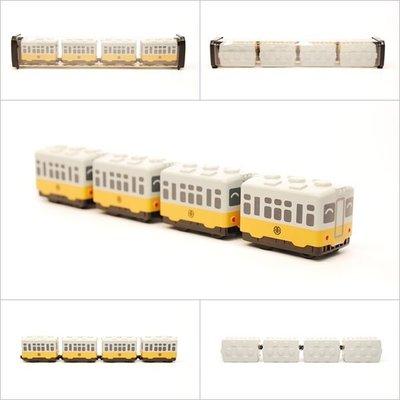 【喵喵模型坊】TOUCH RAIL 鐵支路 Q版 台鐵DR2000(黃皮仔)小列車 ( QV019T1)