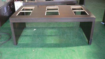 宏品二手傢俱館 台中2手家具賣場 E511*六人火鍋桌*餐桌 刷刷鍋桌 電磁爐桌 造型桌 戶外休閒桌 烤肉桌 工作桌