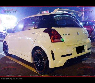 SUZUKI SWIFT GT 側裙 2005 2006 2007 2008 2009