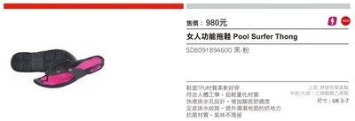 【n0900台灣健立最便宜】2016 SPEEDO 女款功能拖鞋 SD809189A600