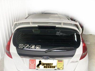 FIESTA MK7 RS尾翼另有 另有碳纖維 carbon 實車