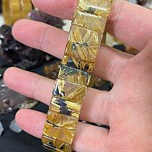 鈦晶太陽花手排鈦排水晶招財開運米字花六條腿對花板鈦16mm母礦高cp值業務做生意必備手環
