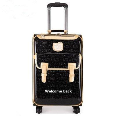 拉桿箱萬向輪學生行李箱商務旅游旅行箱20/24寸登機箱