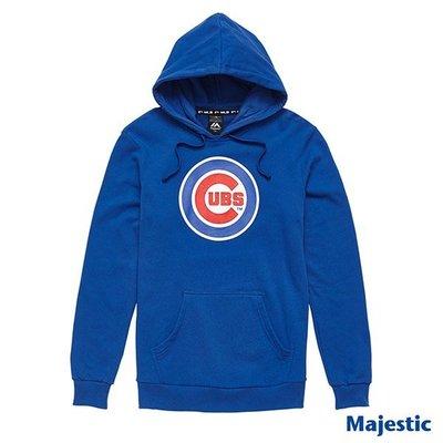 騎士風~ MLB 芝加哥 小熊 CUBS LOGO T 長袖 帽T 6760103-550