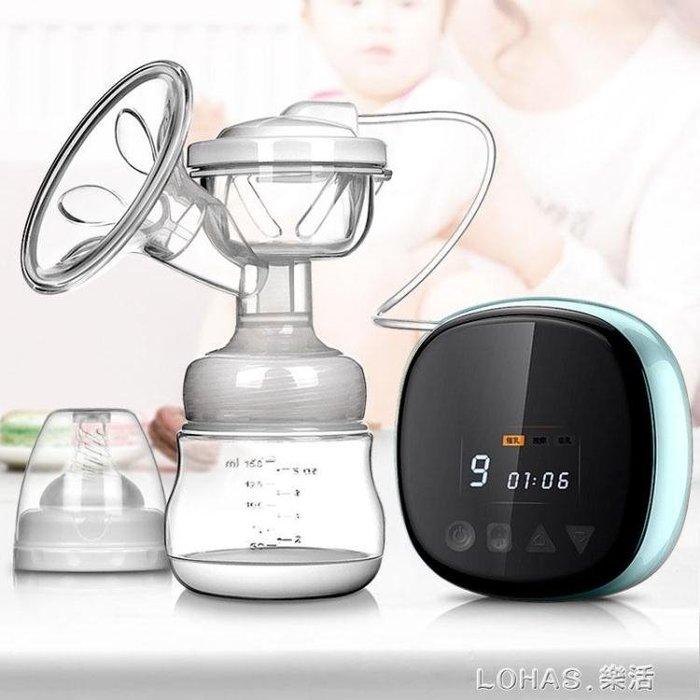 智慧吸奶器電動大吸力液晶數顯充電擠奶器產后母乳收集拔奶器