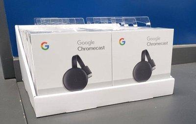 2019全新真品Google Chromecast 3代 HDMI 媒體串流播放器Chromecast 3 賣家一年保固