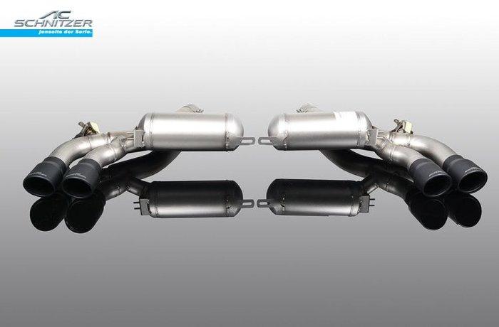 【樂駒】AC Schnitzer BMW F90 M5 Competition 排氣管 尾段 Sport 黑色 尾飾