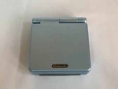 任天堂GameBoy Advance SP AGS-101 水藍色 二手品 功能正常 附充電器