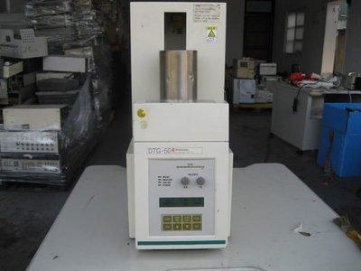 島津 熱分析儀 熱重分析儀 熱差分析儀 Shimadzu DTG-50 Simultaneous DTA/TG