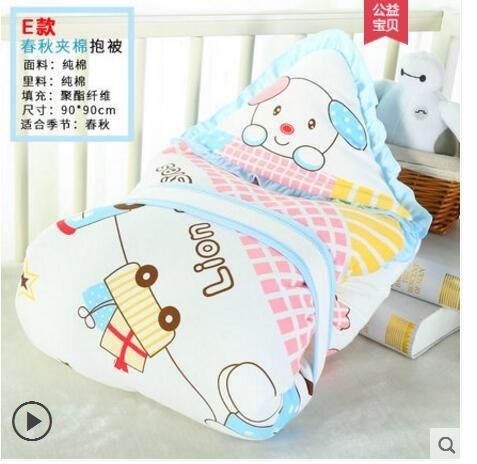 新生兒包被春夏薄款嬰兒抱被秋冬季可脫膽被子襁褓巾寶寶用品