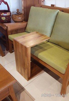 【美日晟柚木家具】SCH 03 印尼柚木集成ㄇ型椅 邊几 花架 茶几 小朋友寫字桌 原木傢俱(兩用)
